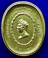 George IV, 1820 - 1830 as regent, Medal 1815 by William Brown, obverse.jpg