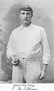 George Lohmann English cricket player