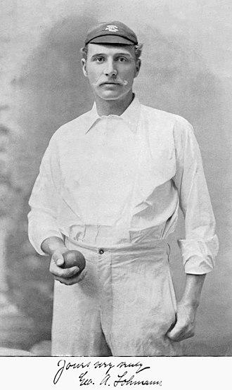 George Lohmann - Lohmann c. 1895