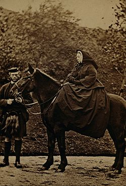 George Washington Wilson - Queen Victoria on 'Fyvie' with John Brown at Balmoral - Google Art Project.jpg