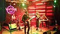 Georgian rock-band Vakis Parki performing at Hard Rock Cafe, Tbilisi. 27 October 2017 06.jpg