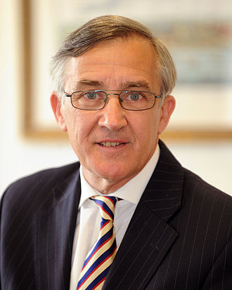Aldershot (UK Parliament constituency) - Image: Gerald Howarth, Parliamentary Under Secretary of State for the MOD