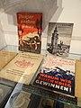 German Books on Nazi Conquest of Poland - Krakow 1939-1945 Museum - In Oskar Schindler's Factory - Krakow - Poland (9195731546).jpg