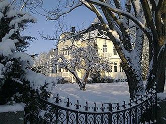 Prinsvillan, Djursholm - Prinsvillan, during winter