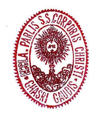 Corpus Christi Church, Għasri - Image: Ghasri parish logo