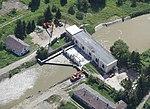 Gibárti vízerőmű légi felvételen.jpg