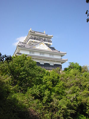 Saitō Dōsan - Inabayama Castle (later renamed Gifu Castle), used as headquarters by Dōsan