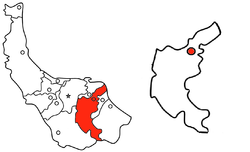 Location of لاهیجان