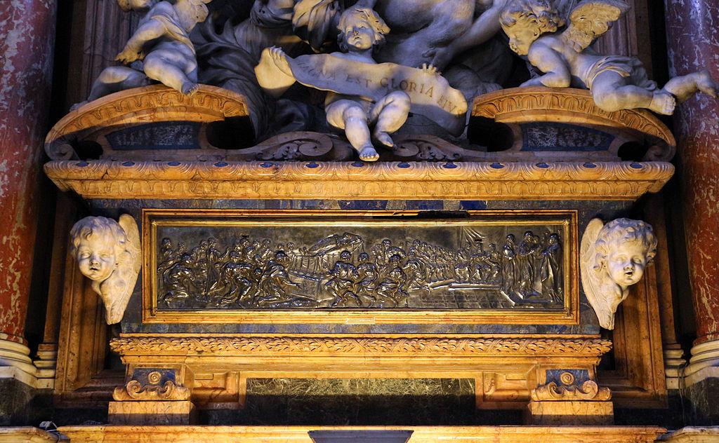 Giovan Battista Foggini, urna di sant'andrea corsini, 1683-86, 01.JPG