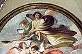 Giovanni da san giovanni, Cristo servito dagli angeli, Sant'Agostino, San Bartolomeo, 1629, 06.JPG