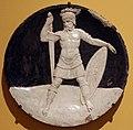Girolamo della robbia, medaglione con dio marte.JPG
