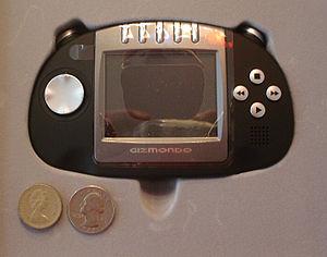 The Gizmondo handheld video game unit. United ...