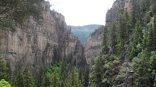 Glenwood Canyon Scenic canyon in Colorado