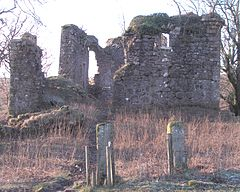 Glengarnock Castle Ayrshire - entrance.jpg