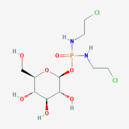 Glufosfamide chemical structure.png