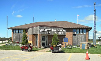 Goderich Airport - Image: Goderich Airport Terminal