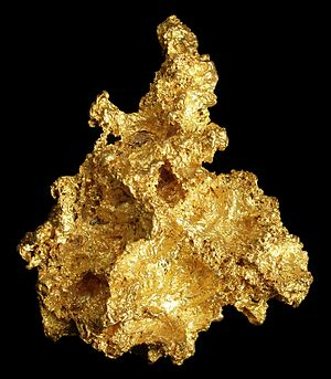 Native element minerals - Native gold