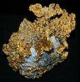 Gold-quartz hydrothermal vein (Calaveras County, California, USA) (17032084115).jpg