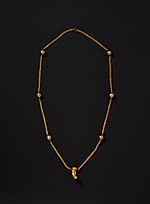 Gold Necklace from the South Mound of Hwangnamdaechong Tomb.jpg