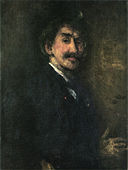 Gold and Brown - Self-portrait by James McNeill Whistler.jpg