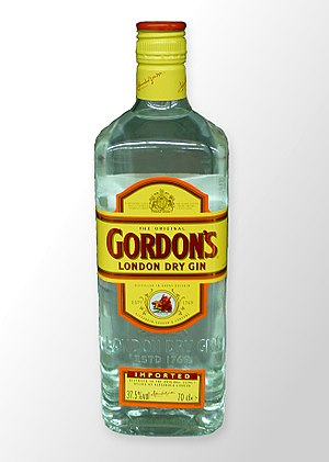 Gordon's Gin - An export bottle of Gordon's London Dry Gin