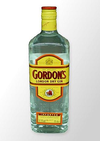 Gordon's Gin - An export bottle of Gordon's London Dry Gin