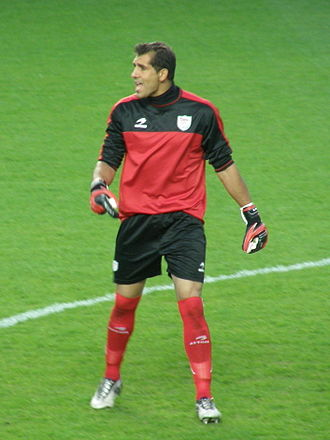 Gorka Iraizoz - Iraizoz before a game with Basque Country in 2011