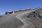 Gornergratbahn train in Gornergrat, Wallis, Switzerland, 2012 August.jpg