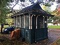 Gorsedd Gardens hut September 2017.jpg