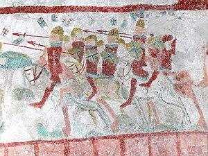 Bunge Church - Image: Gotland Bunge kyrka Wandmalerei 17