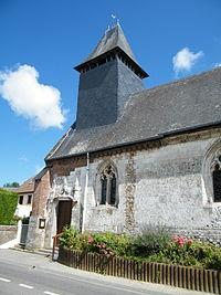 Gouchaupré, Seine-Maritime, France, église (2).JPG