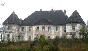 Bokalce Castle - Bokalce Castle, main facade