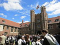 Graduation day, Queens' College, Cambridge.JPG