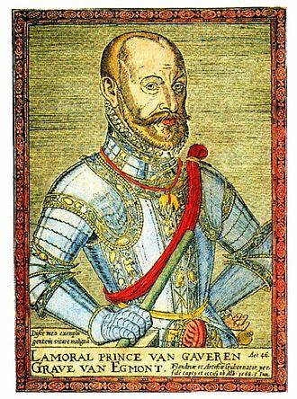 Lamoral, Count of Egmont - Lamoral, Count of Egmont