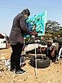 Graffiti artist in Labadi, Ghana.jpg