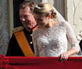 Grand Duke and Stéphanie Luxembourg Royal Wedding 2012.jpg