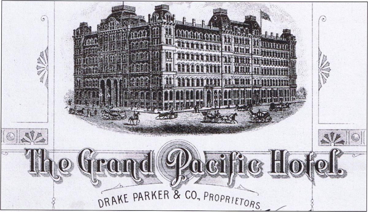 Grand Pacific Hotel Chicago Wikipedia