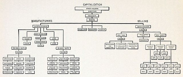 Organizational Chart Creator: Graphic Chart showing the System of Organization and ,Chart