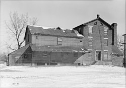 Graue Water Mill, York Road, Fullersburg vicinity (Du Page County, Illinois).jpg