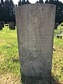 Gravestone of Driver William Henry Fergusson of the Royal Engineers at Western Cemetery, Cardiff, May 2020.jpg