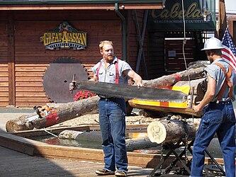 Great Alaskan Lumberjack Show crosscut saw 3.jpg