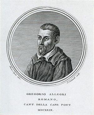 Gregorio Allegri - Gregorio Allegri
