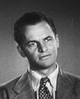 James Gregory (actor) - Gregory in 1948