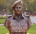 Grenadier Yoginder Singh Yadav statue at Param Yodha Sthal Delhi.jpg