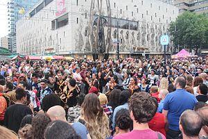 Grote drukte zomercarnaval Rotterdam