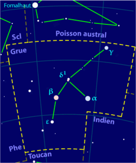 Image illustrative de l'article Grue (constellation)