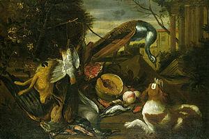 Adriaen de Grijef - Hunting still life