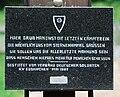 GuentherZ 2010-07-17 0107 Semmering Soldatenfriedhof Friedhofskreuz Tafel.jpg