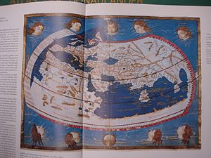 Nicolaus Germanus - A 1474 printed version of Nicolaus Germanus's map