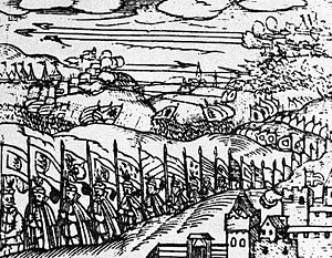 Sălaj County - Michael the Brave defeating the Hungarians in Guruslău, 1601